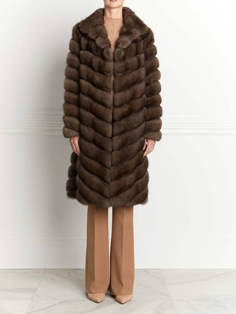 The Genevieve Sable Fur Coat