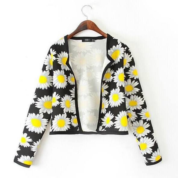 Floral Print Jackets