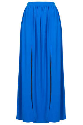 Spliced Maxi Skirt - Maxi & Midi Skirts - Skirts - Clothing- Topshop