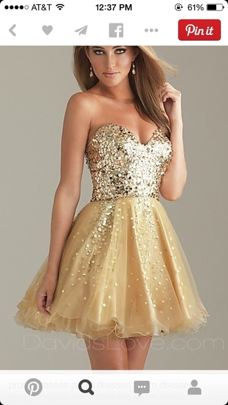 glitter short formal sparkle