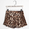 Sexy ladies leopard print shorts skorts casual beach sports yoga hot pants | ebay