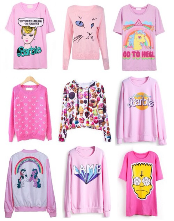 sweater t-shirt girly my little pony cute quote on it cute sweaters