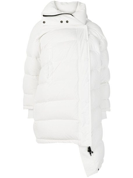 jacket puffer jacket women white