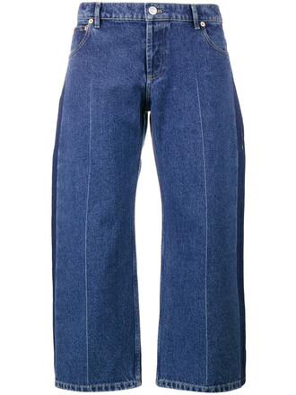 jeans women rockabilly cotton blue