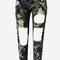 Ripped camo army pants