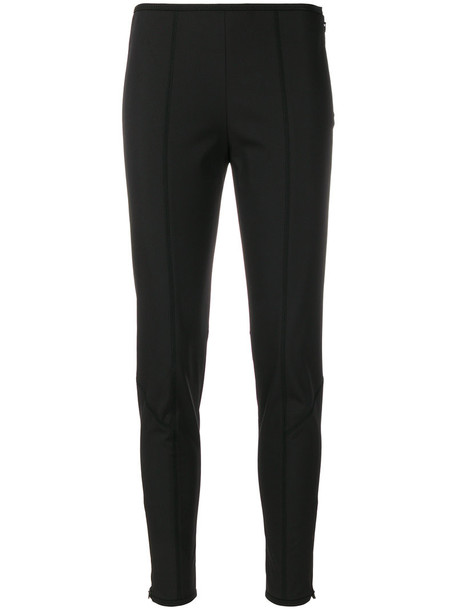 Prada women spandex fit black pants