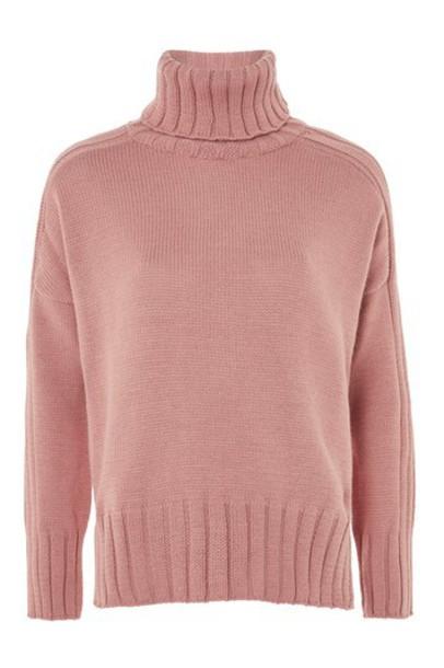 Topshop jumper rose sweater