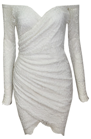 Raw Glitter   Eliza White Lace Off Shoulder Dress, Sexy Laced Dresses   RawGlitter.com