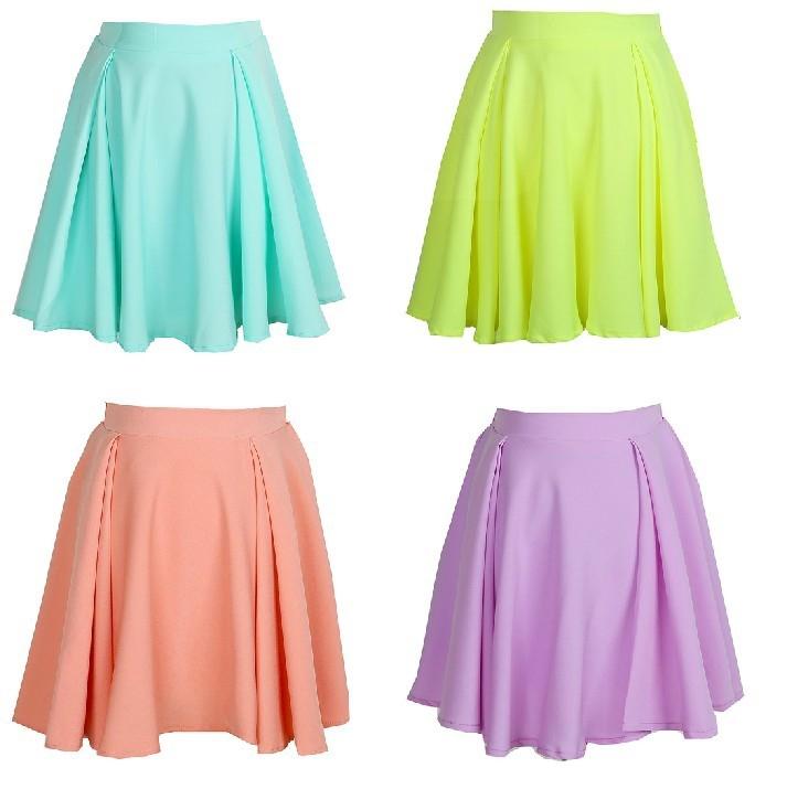 Candy high waist skirt