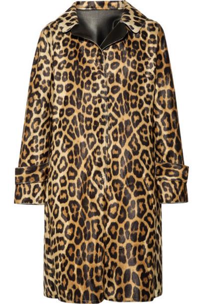 coat faux fur coat fur coat fur faux fur leather print leopard print