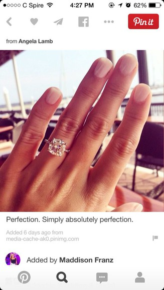 engagement ring nail accessories rings and tings
