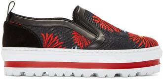 sneakers platform sneakers multicolor shoes