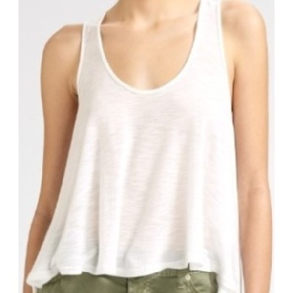 tank top crop tank clothes summer white top white tank top
