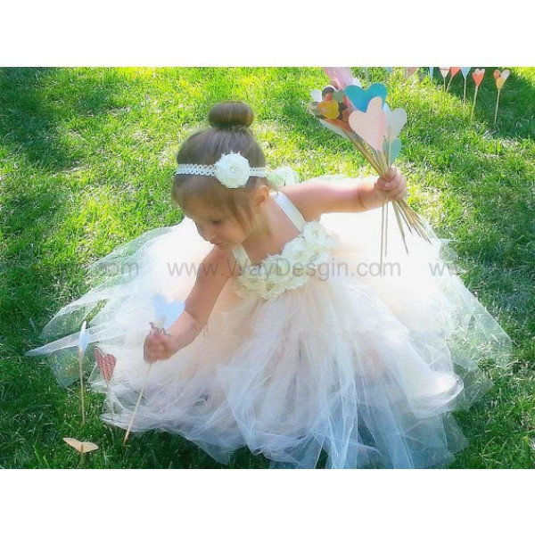 dress flower girl dress