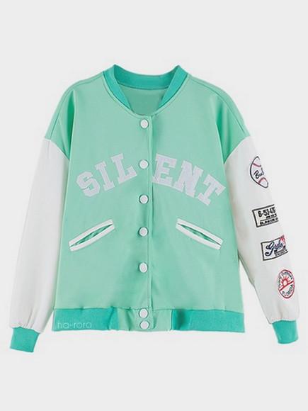 jacket green mint