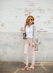 themiddlepage,blogger,blouse,jeans,shoes,bag,jewels,sunglasses