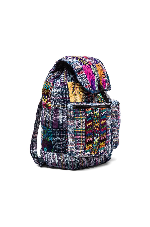 STELA 9 Santiago Patchwork Backpack in Blue | REVOLVE