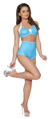 swimwear,50s style bikini