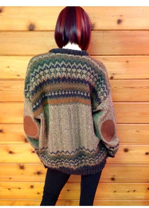 sweater vintage vintage sweater indie cute