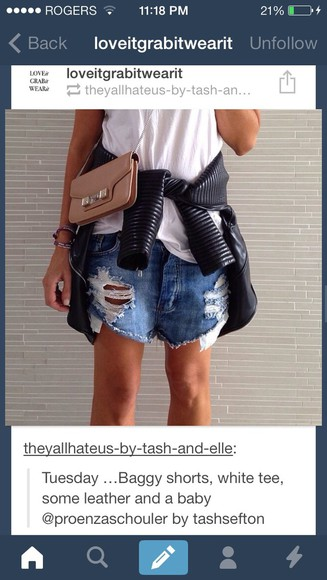 jeans shorts ripped blue jeans acid washed shorts baggy