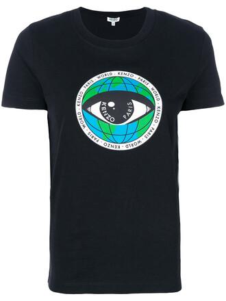 t-shirt shirt women peace cotton black top