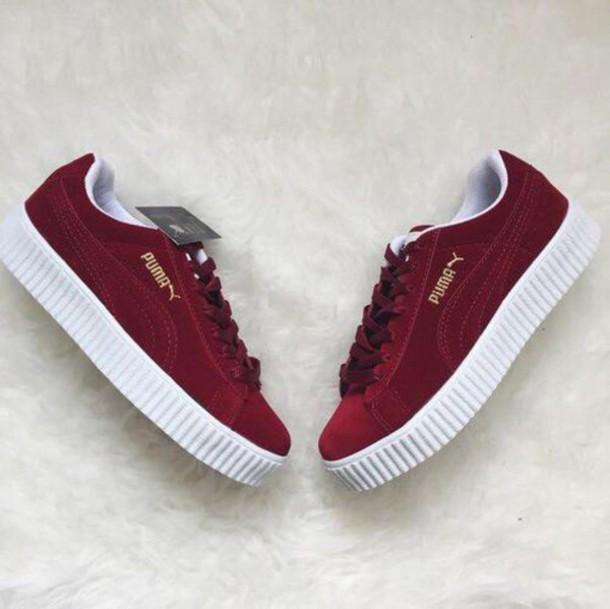 Puma Fenty Shoes Maroon cv-writing-jobs-recruitment-uk.co.uk a070edd5f