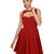 BB Dakota Kassia Dress - Taffeta Dress - Pleated Dress - Red Dress- $89.00