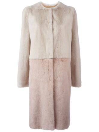 coat fur coat fur women nude