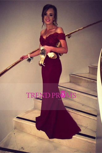 dress prom dress marron dress burgundy dress