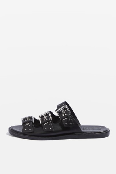 Topshop studded sandals studded sandals black shoes