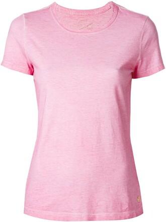 t-shirt shirt classic purple pink top