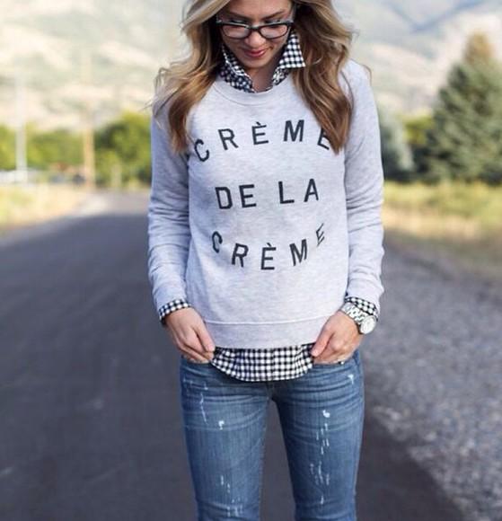jumper sweater t-shirt shirt Tshirt sweater/sweatshirt creme de la creme women jumper beyonce streetwear tumblr sweater gloves