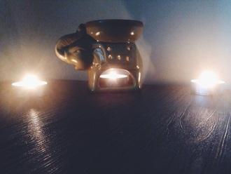 jewels elephant candleholder indie boho grunge elephant home decor roomspiration