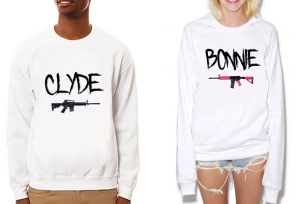 sweater sweatshirt couples matching tshirt selfie. Black Bedroom Furniture Sets. Home Design Ideas