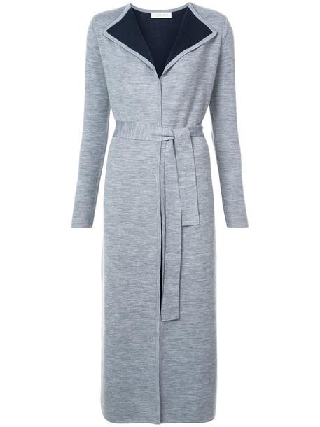 Gabriela Hearst coat women spandex wool grey