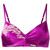 Carine Gilson - Soft bra - women - Silk/Polyamide/Spandex/Elastane/Rayon - M, Pink/Purple, Silk/Polyamide/Spandex/Elastane/Rayon
