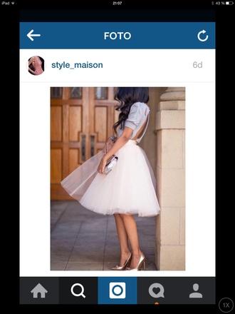 skirt long midi short midi skirt white tulle skirt
