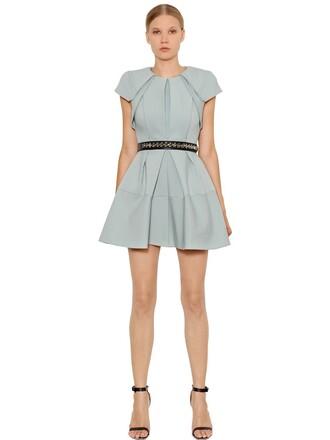 dress pleated mint