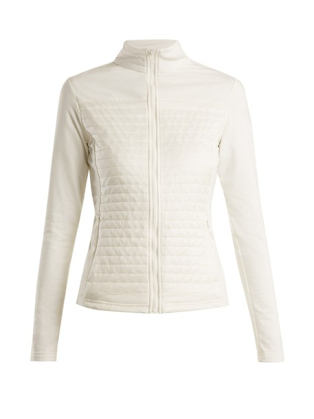 Fusalp jacket high quilted white