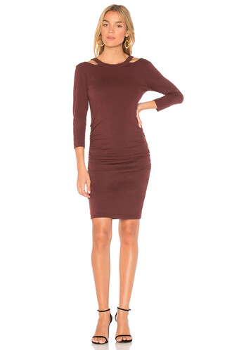 dress bodycon bodycon dress red