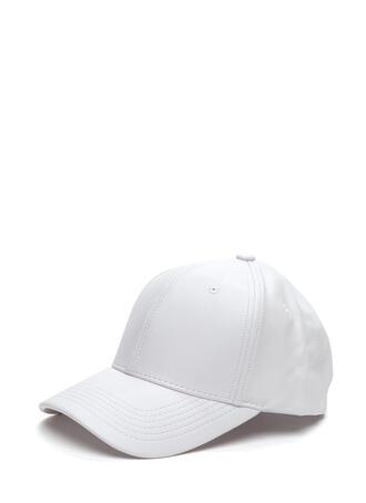 hat white cap snapback faux leather