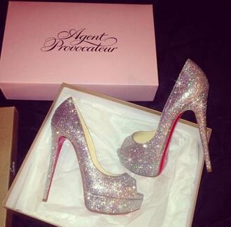 shoes peeptoe peeptoe shoes glitter glitter shoes glitter heels high heels glittery shoes glittery heels peep toe heels peep toe
