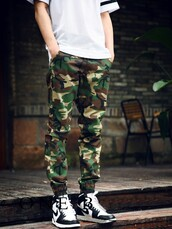 joggers,camo pants,mens pants,winter swag,camouflage