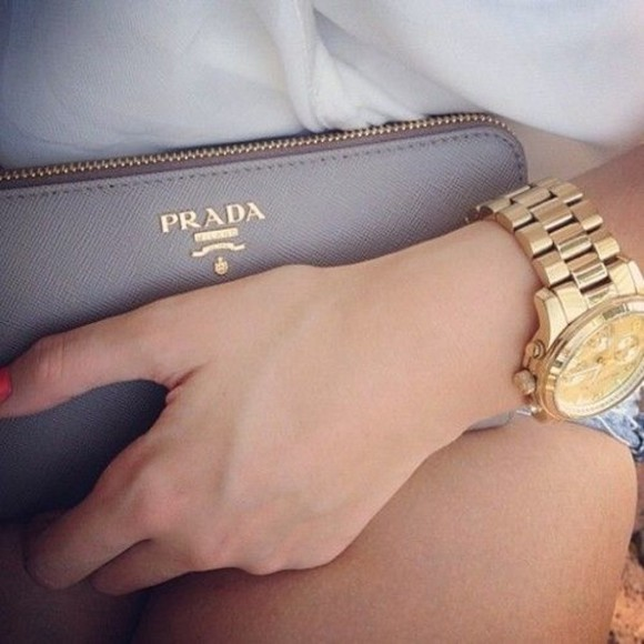 bag clutch prada