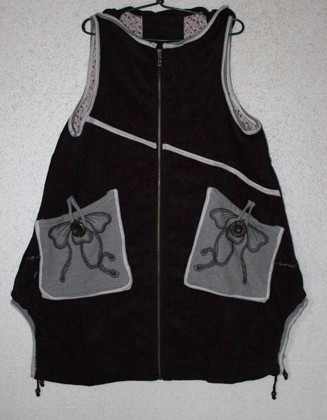 coat hoodie vest