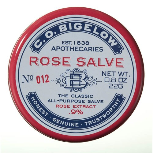 C.O. Bigelow - Rose Salve - No. 012
