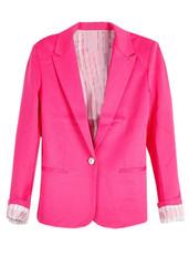Sirenlondon — alena pink blazer