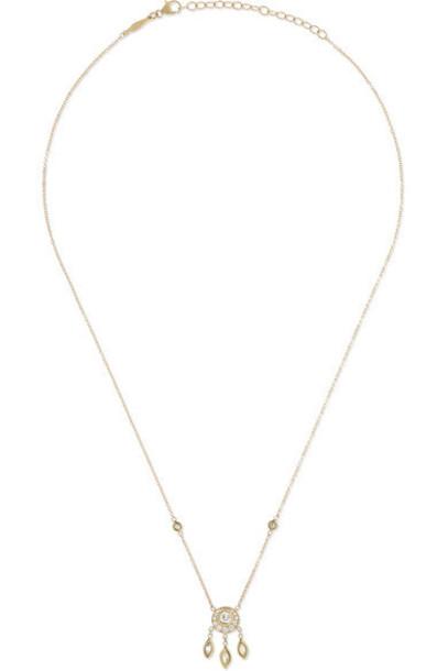 Jacquie Aiche - 14-karat Gold Diamond Necklace