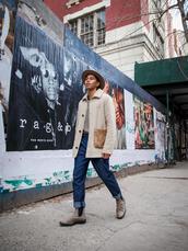 closet freaks,blogger,jacket,sweater,pants,shoes,hat