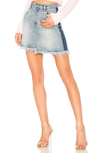 skirt mini skirt mini vintage blue